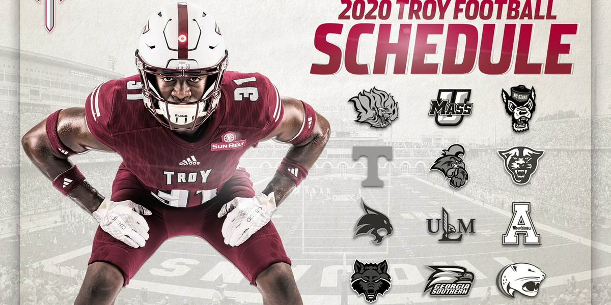 Tennessee, NC State highlight Troy's 2020 non-conference schedule