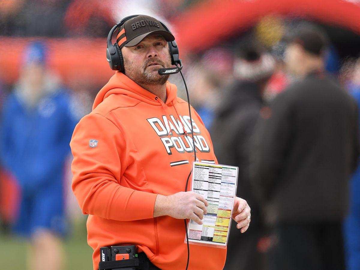 AP source: Browns pick coordinator Kitchens as next coach