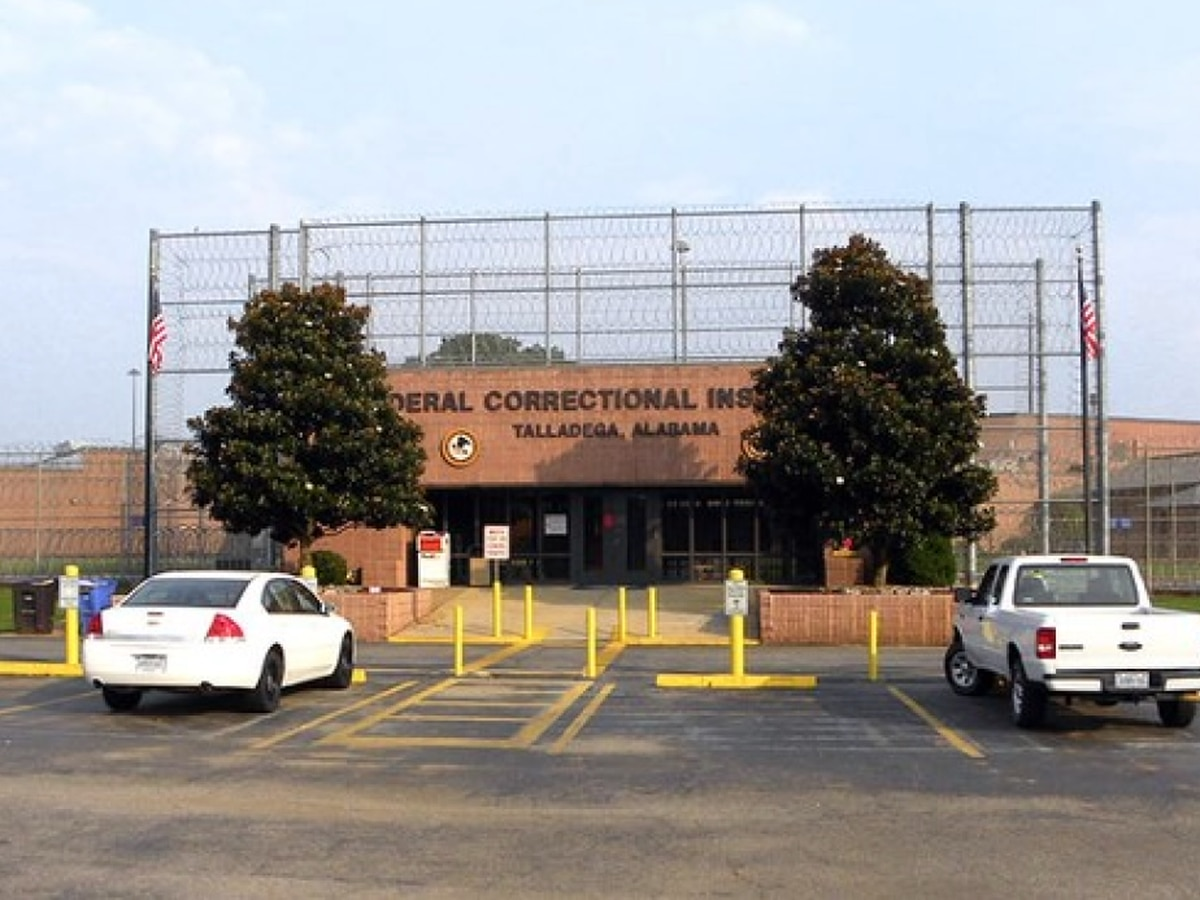 Employee at federal prison in Talladega tests positive for coronavirus