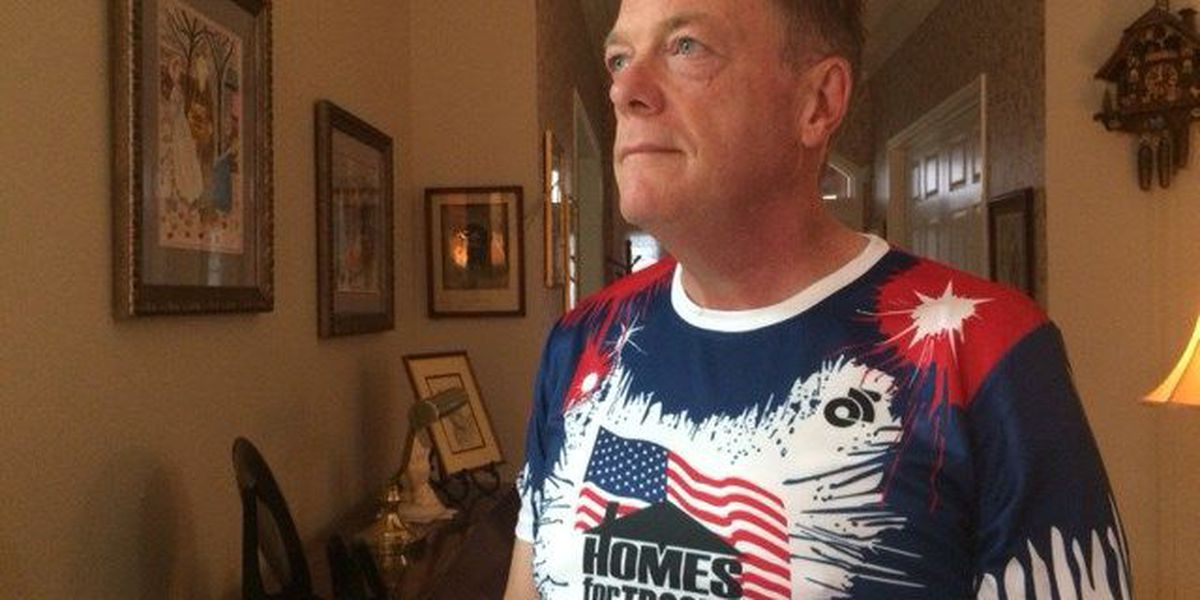 Montgomery man racing to honor the military