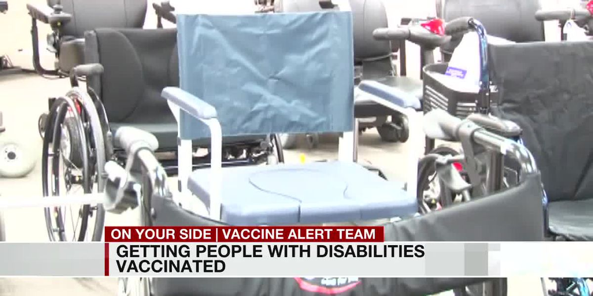People with disabilities eligible, but still struggling to get vaccines
