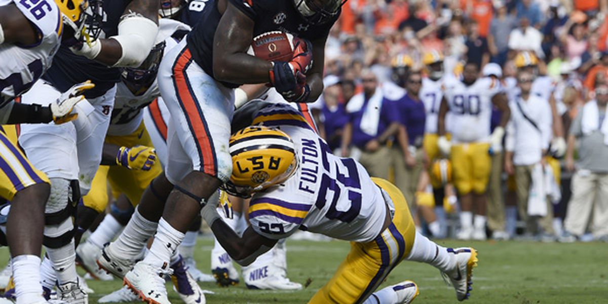 LSU snaps Auburn's 13-game home winning streak