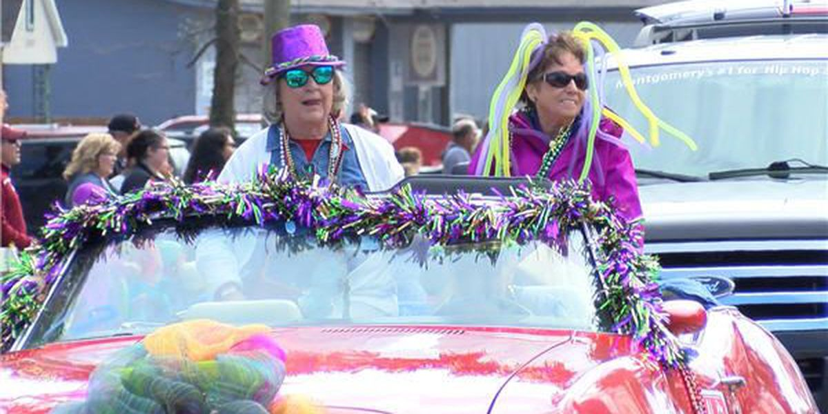 City of Millbrook celebrates Mardi Gras with parade, games and more