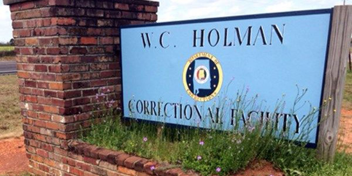 Work stoppage reported at Holman Correctional Facility