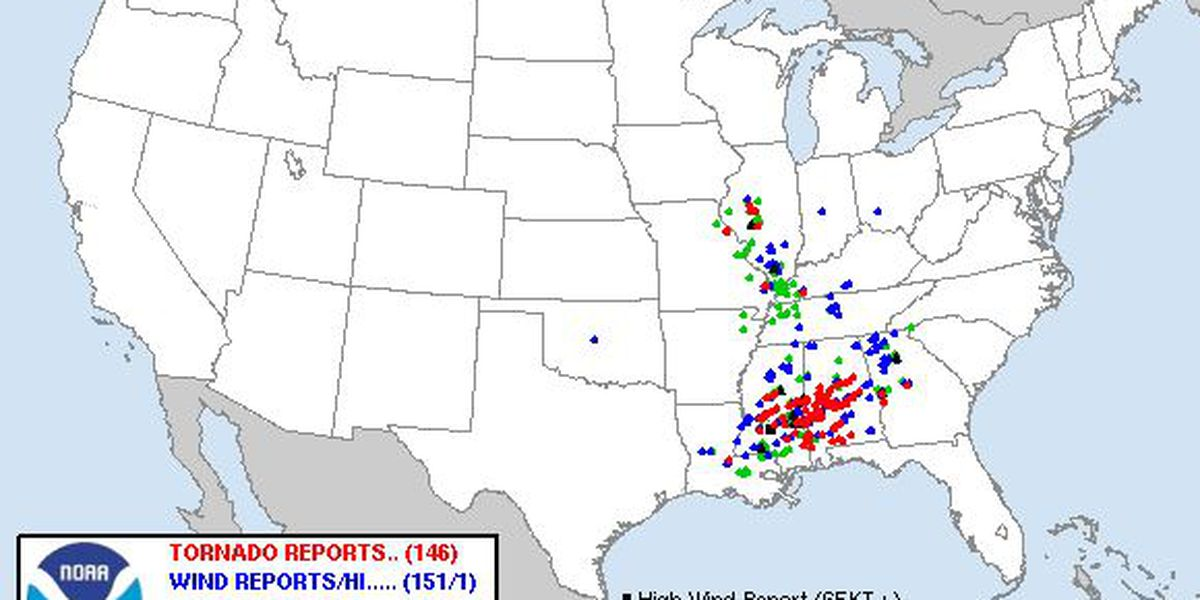 "10 years ago today: the ""forgotten"" 2011 tornado outbreak"