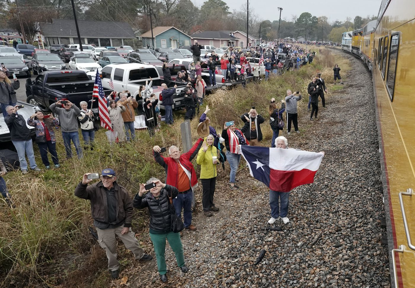 Bush S Presidential Funeral Train First In Nearly 50 Years