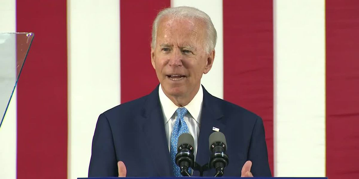 Biden: Trump has failed at home on virus, abroad with Putin