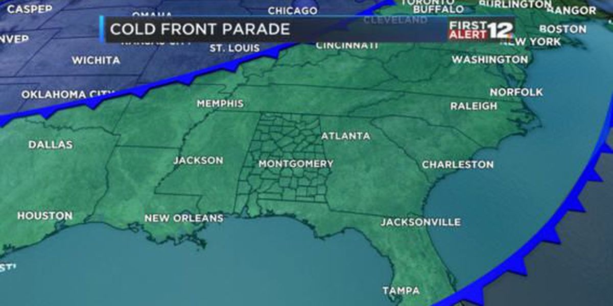 Weather Blog: Storms are gone, sunshine returns