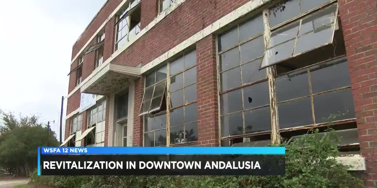 Revitalization coming to downtown Andalusia
