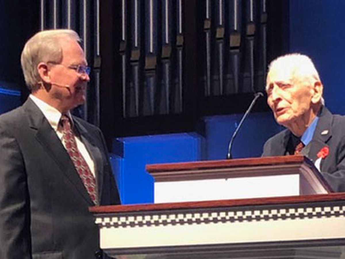 Vietnam War vet honored by Prattville church