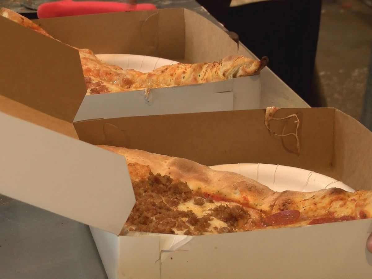 Bibb Street Pizza, customers donate slices to homeless