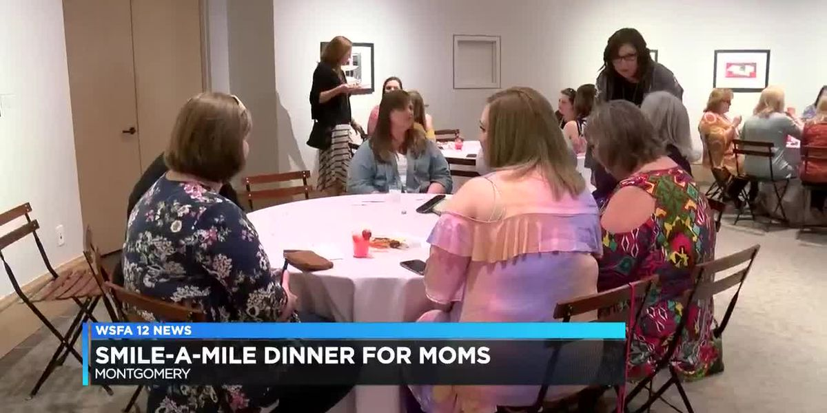 Smile-A-Mile Dinner for Moms held in Montgomery