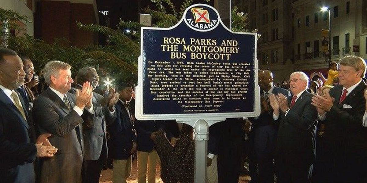 New historical marker honors Rosa Parks, civil rights pioneers