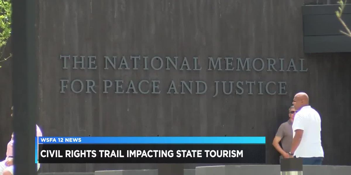 Civil rights trail impacting tourism