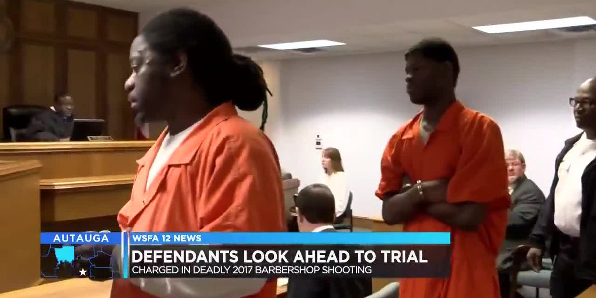 Defendants in Prattville barbershop murders on the fast-track to trial