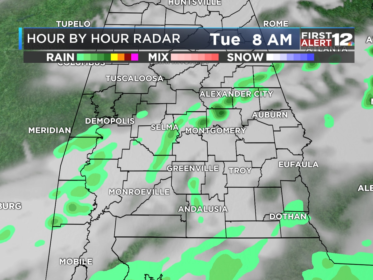 First Alert: A few showers this morning