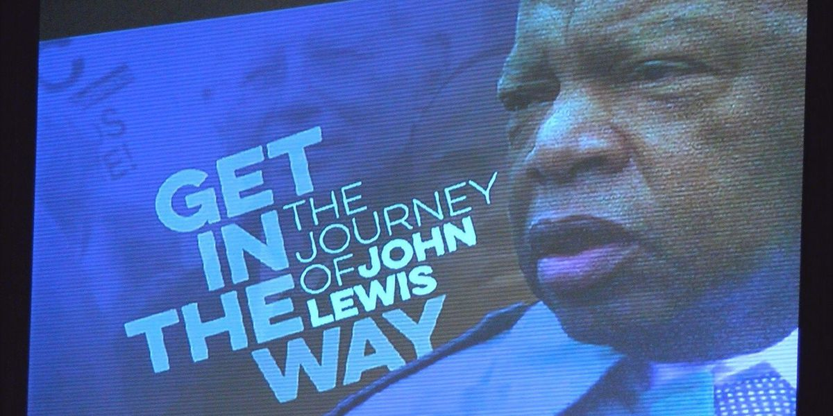 The legacy of John Lewis comes to life on the big screen