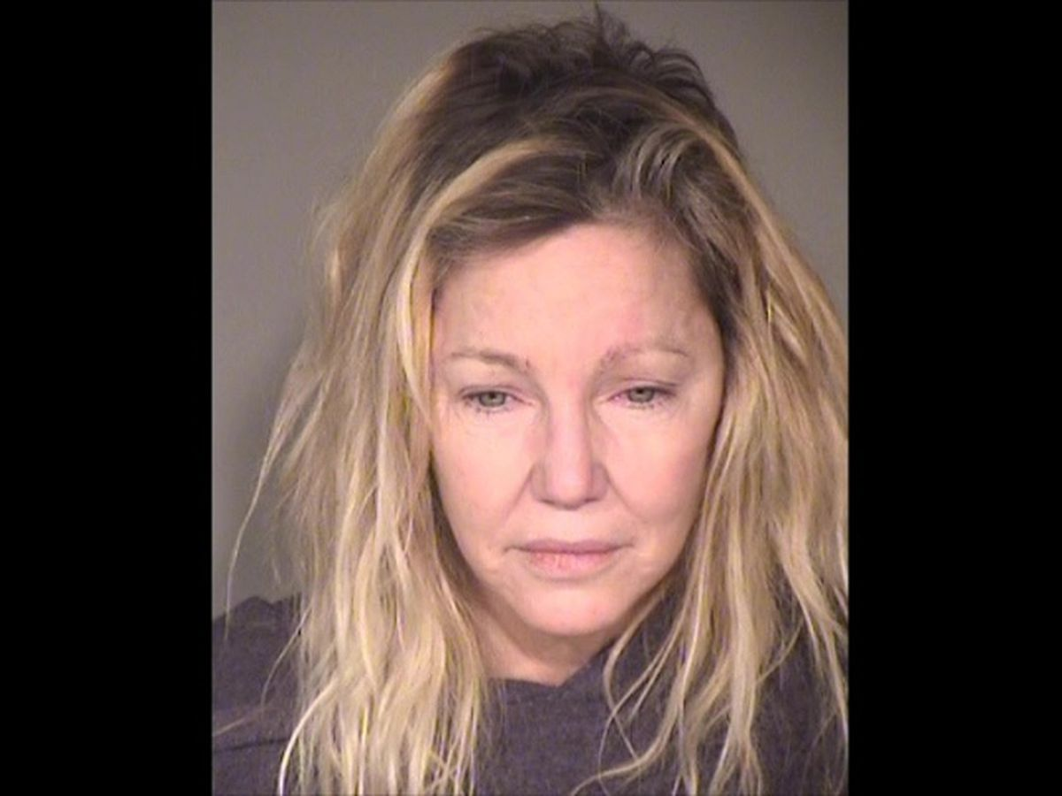 Heather Locklear pleads no contest to fighting with deputies