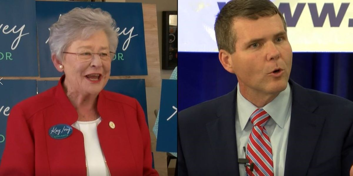 Alabama Gov. Ivey extends fundraising lead over Maddox