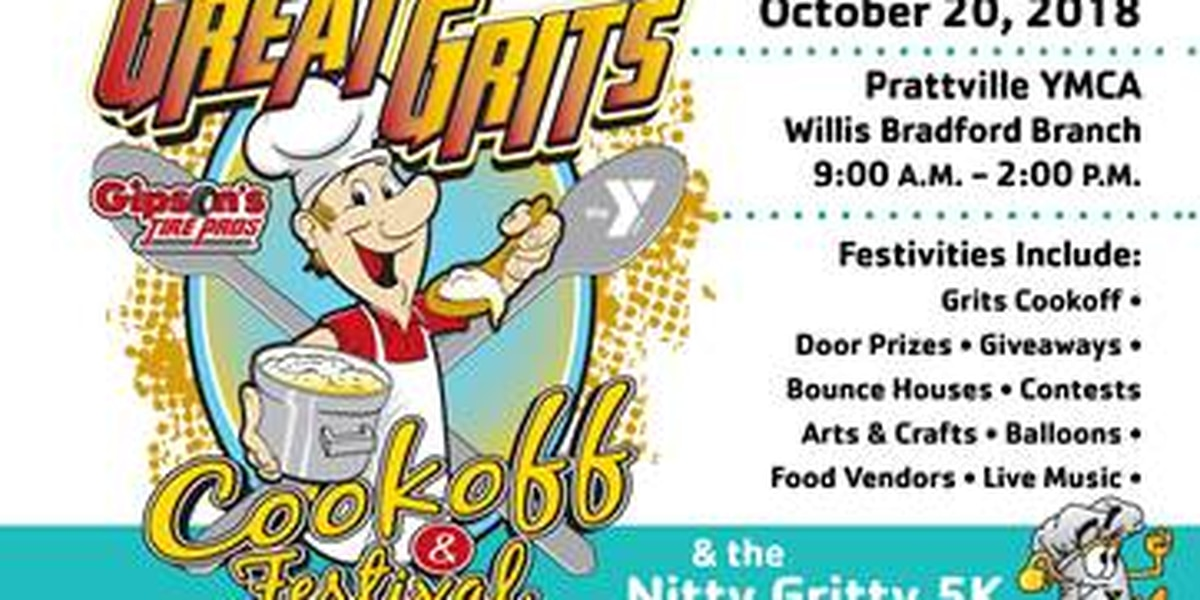 Gipson's Great Grits Cookoff, Festival to be held Saturday in Prattville