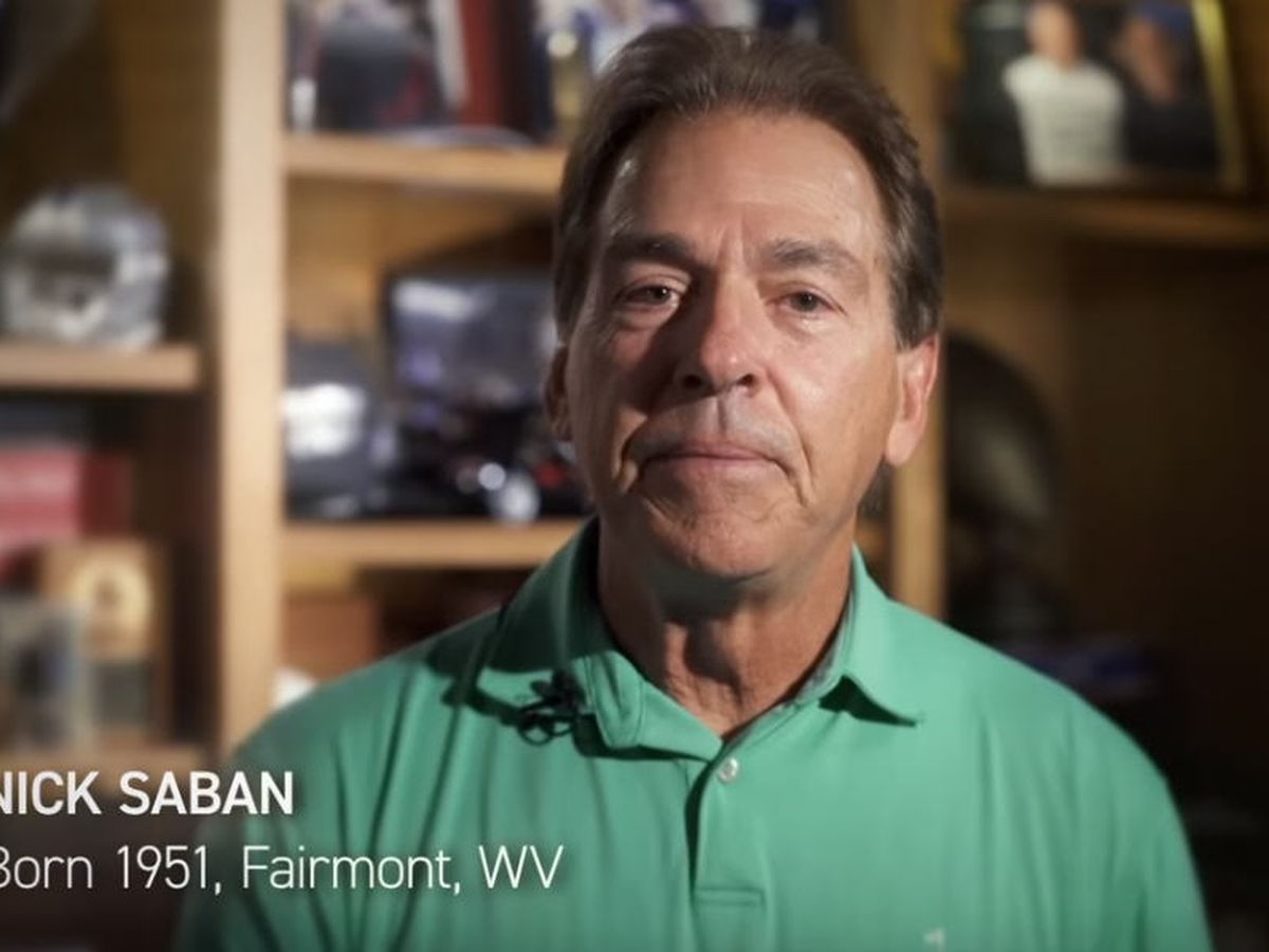 Nick Saban enters political arena with senate endorsement