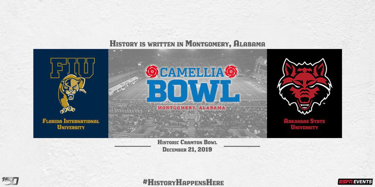 Events lead up to 2019 Camellia Bowl