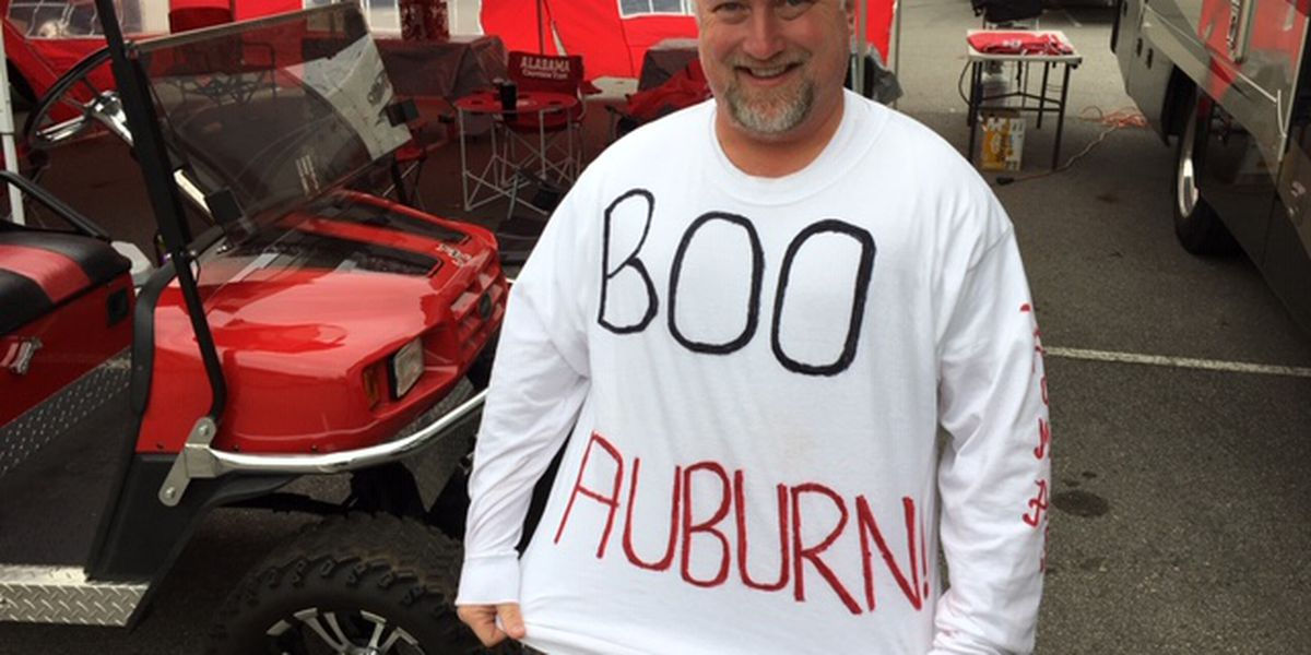 Bama fans arrive early for Iron Bowl rivalry