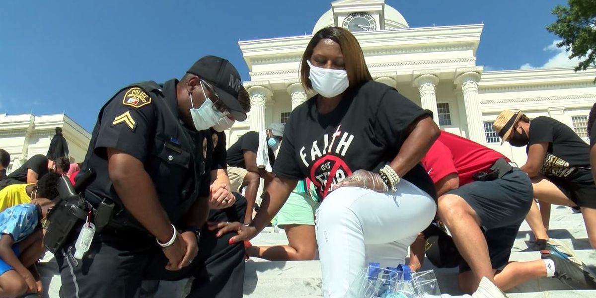 'Black Lives Better' rally in Montgomery promotes positivity and prayer