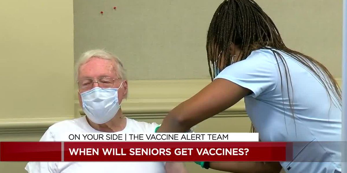 When will seniors get the vaccine?