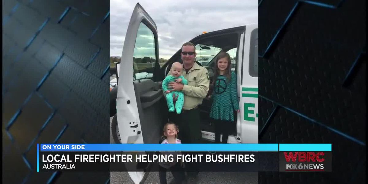 Alabama wildland firefighter offering aid in Australia; community rallies back home to help wildlife