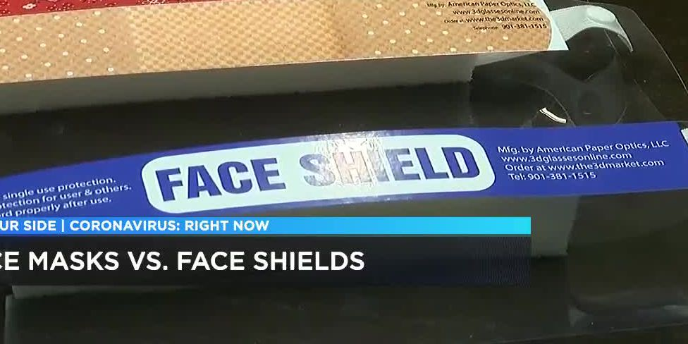 Face shield vs. Masks: Which provides better protection against COVID-19?