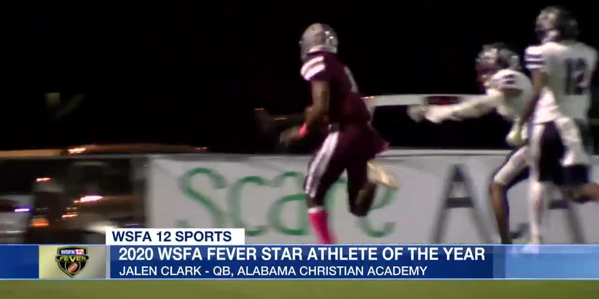 Jalen Clark named 2020 WSFA Fever Star Athlete of the Year
