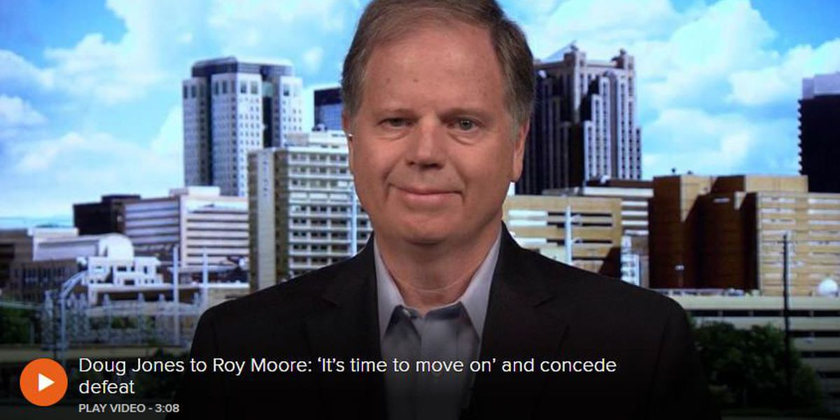 Jones to Moore: 'It's time to move on'