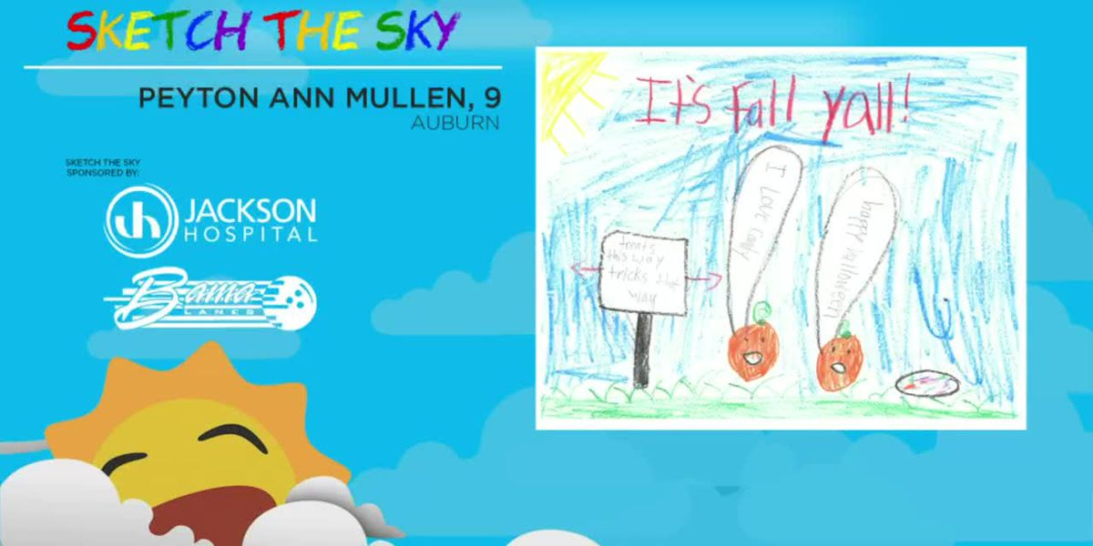 Sketch the Sky winner: Peyton Ann Mullen