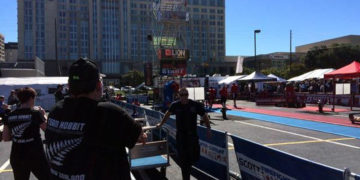 Montgomery firefighters break own world record in World Firefighter Combat Challenge