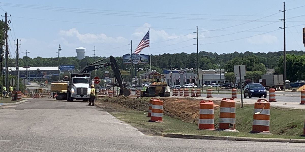 Construction begins to widen heavily traveled Dothan road