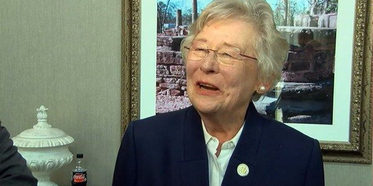 Gov. Ivey reacts after being slammed for 'betraying Alabama'