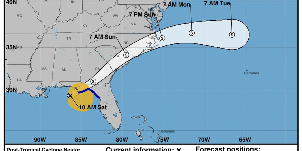 Wet, windy Saturday for parts of Alabama