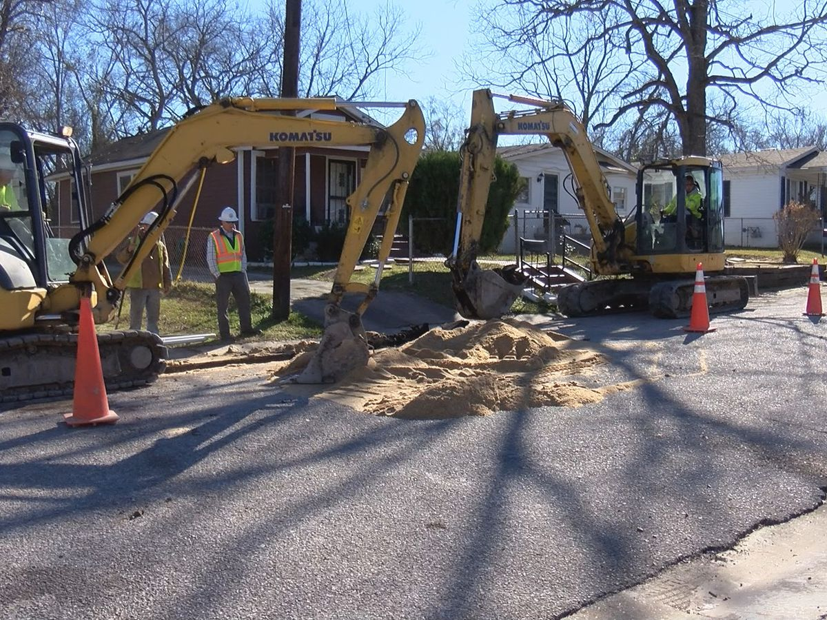 Newtown residents hopeful with ongoing water main replacement project but still have concerns