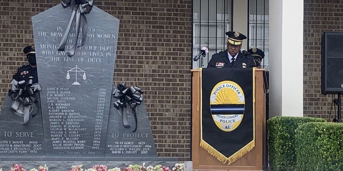 Fallen police officers honored across Alabama during National Police Week