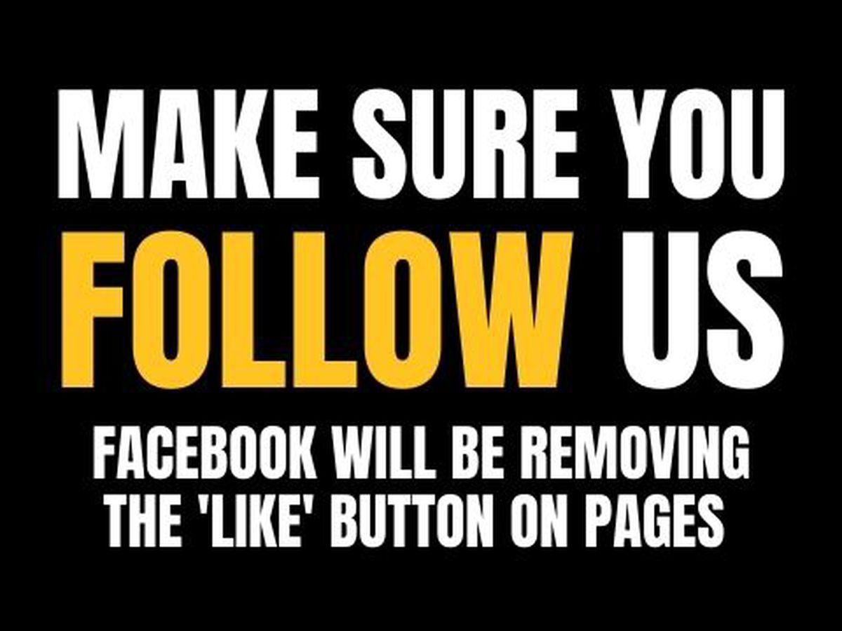 "Facebook removing ""like"" button on pages; follow WSFA 12 News for updates"