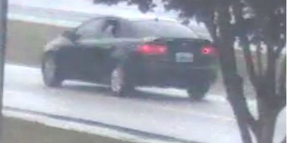 Suspects wanted after shooting into vehicle