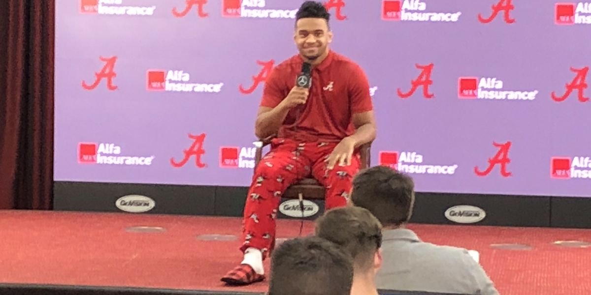 Alabama Quarterback talks about his recovery and whether or not he's going to the NFL
