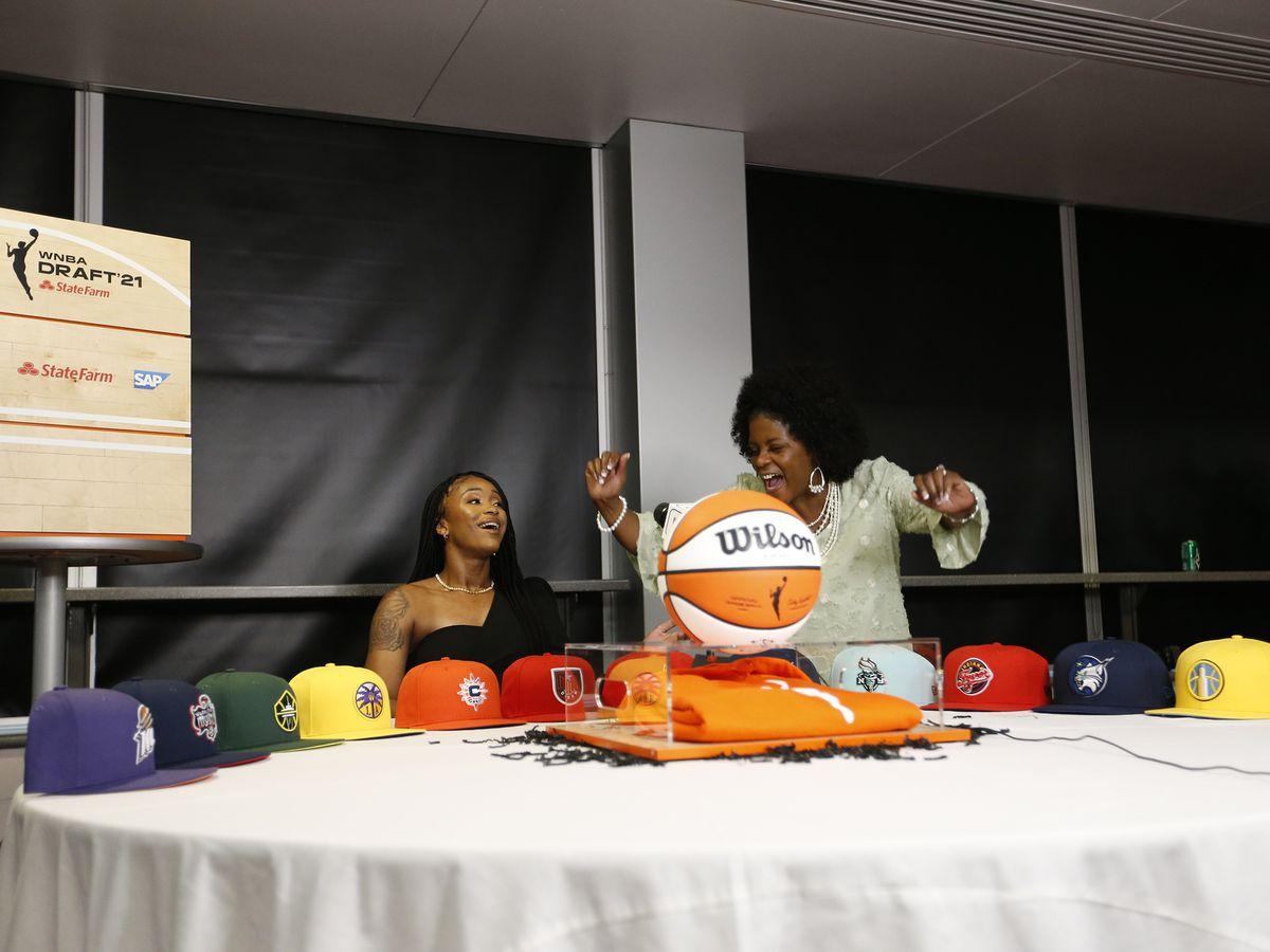 Jeff Davis' Jasmine Walker drafted to Los Angeles Sparks in 2021 WNBA Draft