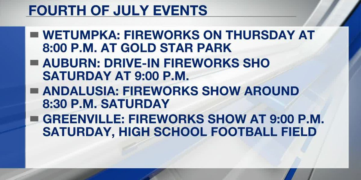 2020 Fourth of July events around River Region