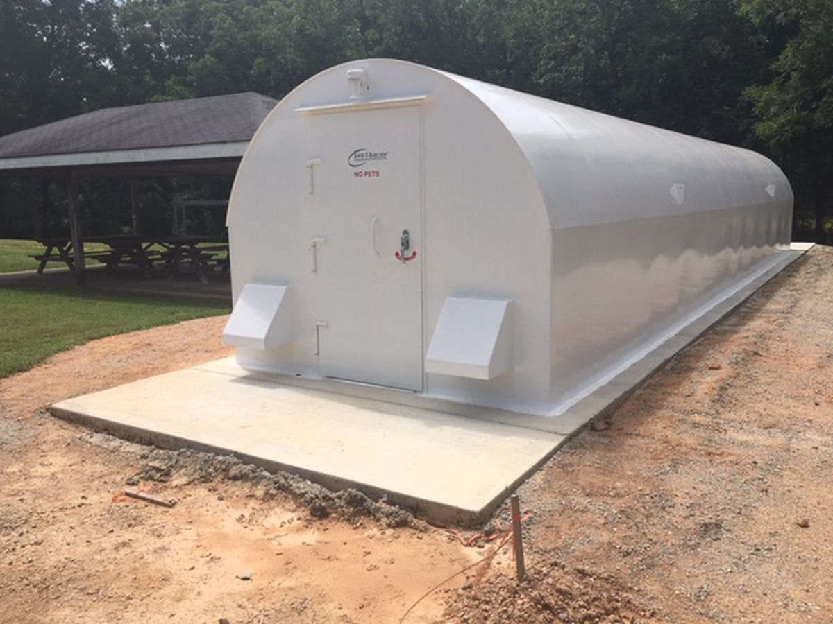 Tallapoosa County community receives new storm shelter