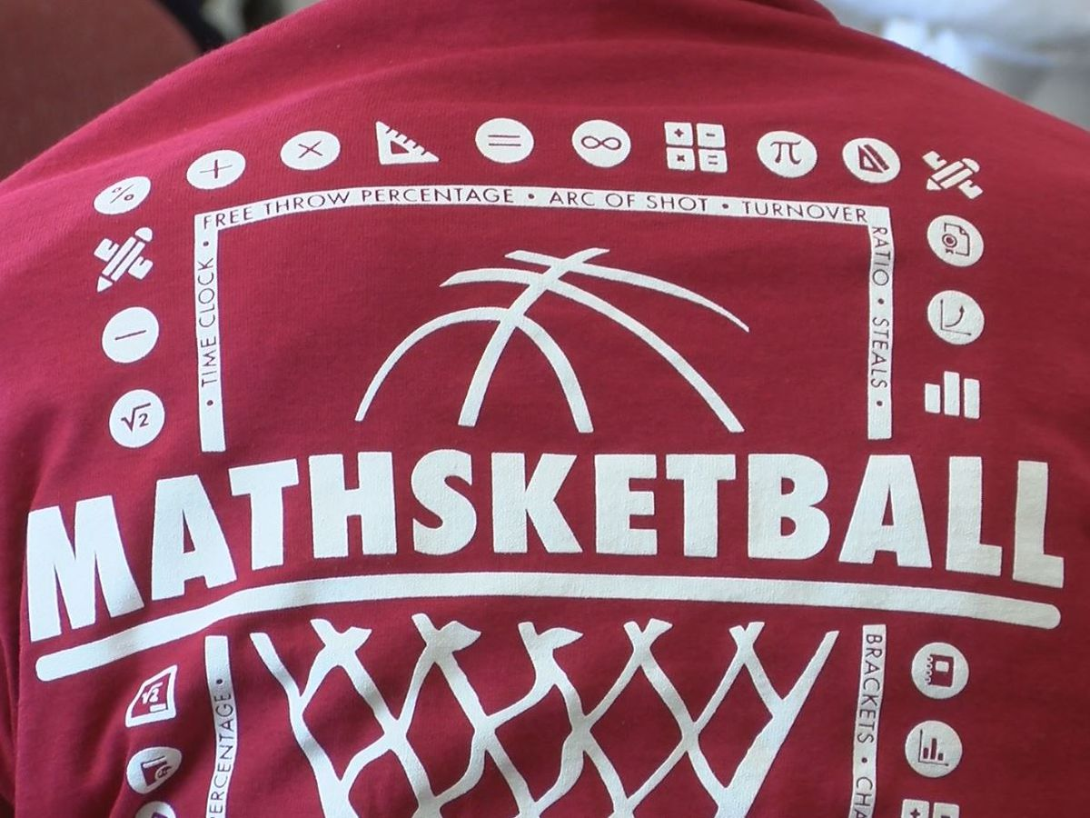 Mathsketball camp aims to keep girls engaged with math through hoops