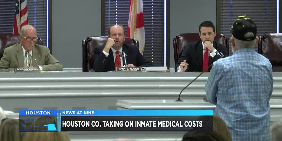 Houston County taking on inmate medical costs