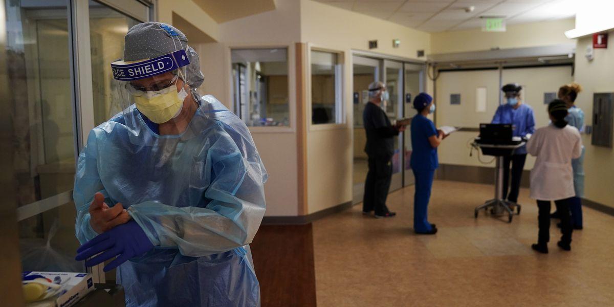 Coronavirus deaths rising across US amid winter surge