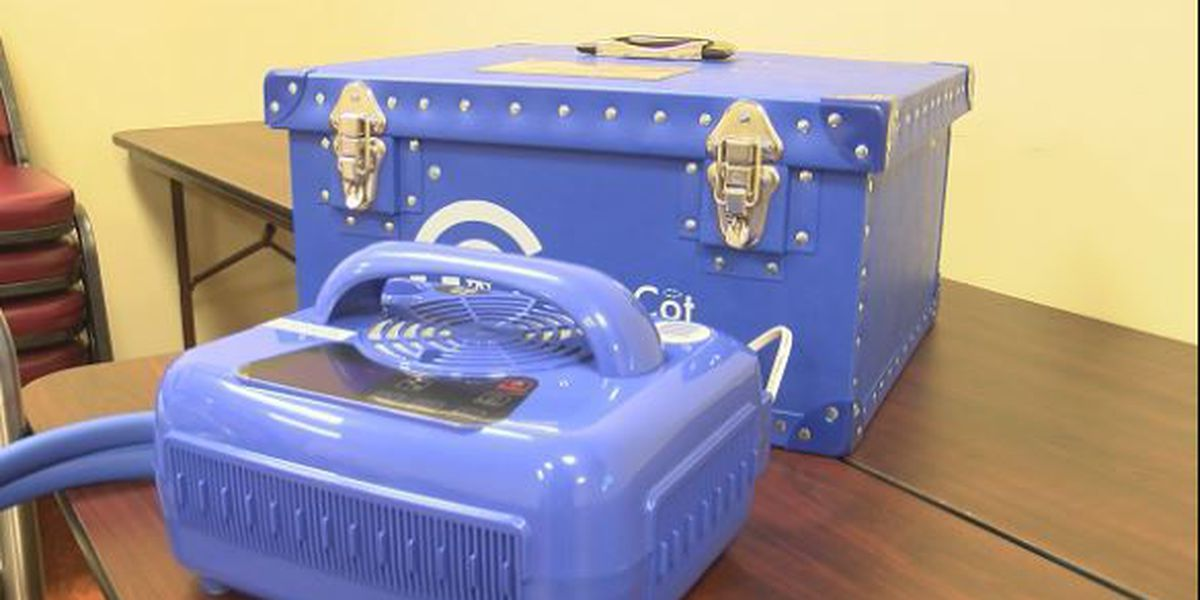 CuddleCot device donated to Medical Center Enterprise